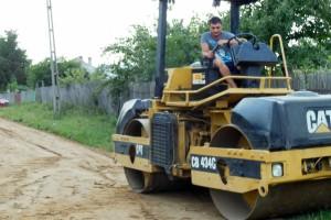 Reparatie drumuri comuna Trivalea Mosteni