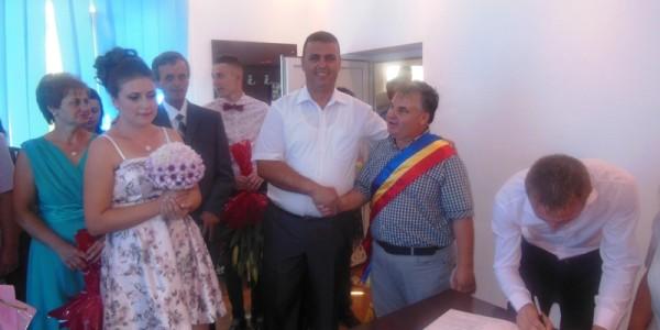Trivalea Mosteni – cununie civila Fam.Zimbresteanu
