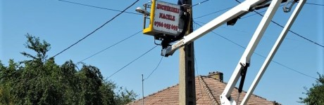 Trivalea Mosteni – instalare sistem iluminat LED-uri